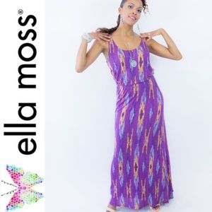 5/$25 Ella Moss Dress Maxi Medium